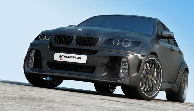 BMW X6 Interceptor: ruský tuning pro německé SAV: - fotka 7