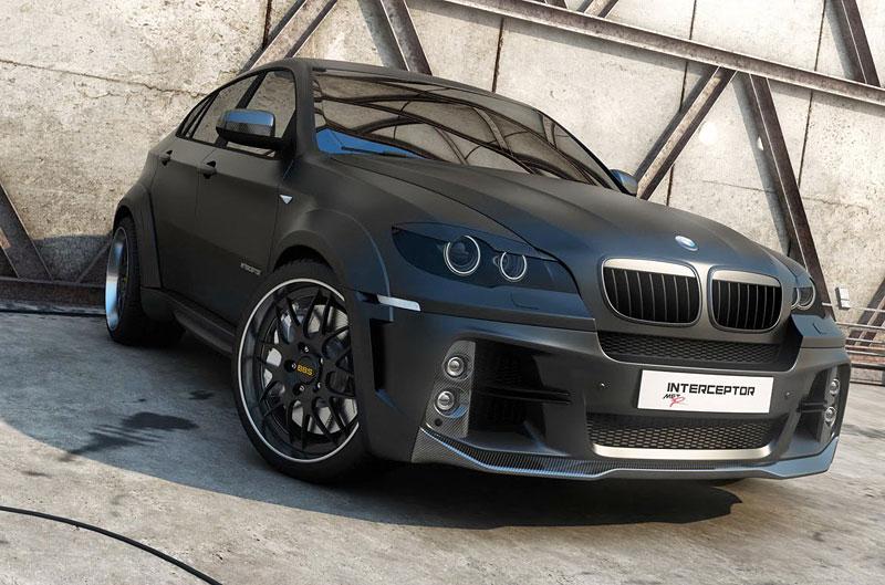 BMW X6 Interceptor: ruský tuning pro německé SAV: - fotka 8