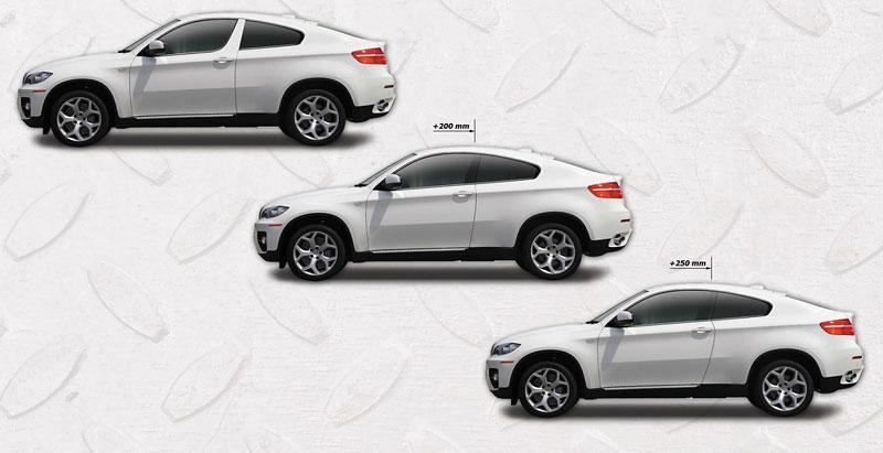 BMW X6: dvoudveřové kupé od ArmorTech: - fotka 4
