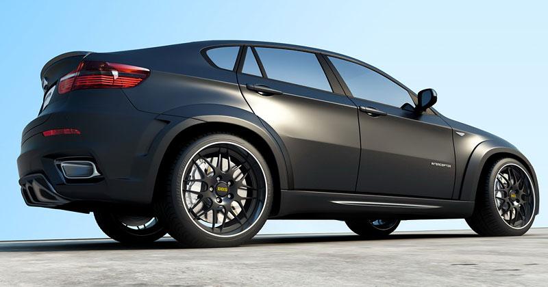 BMW X6 Interceptor: ruský tuning pro německé SAV: - fotka 9