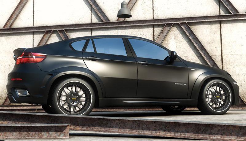 BMW X6 Interceptor: ruský tuning pro německé SAV: - fotka 10