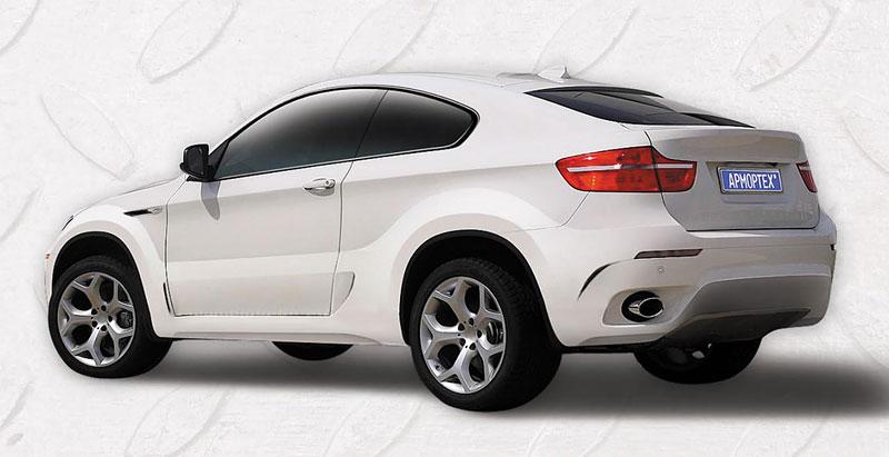 BMW X6: dvoudveřové kupé od ArmorTech: - fotka 6