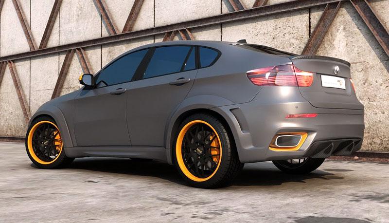 BMW X6 Interceptor: ruský tuning pro německé SAV: - fotka 11