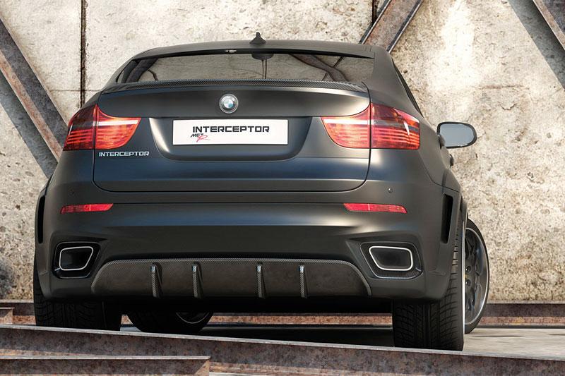 BMW X6 Interceptor: ruský tuning pro německé SAV: - fotka 13