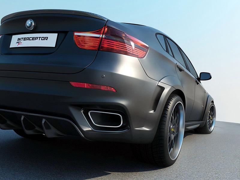 BMW X6 Interceptor: ruský tuning pro německé SAV: - fotka 15