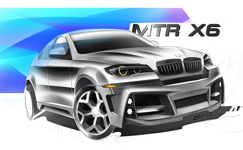 BMW X6 Interceptor: ruský tuning pro německé SAV: - fotka 16