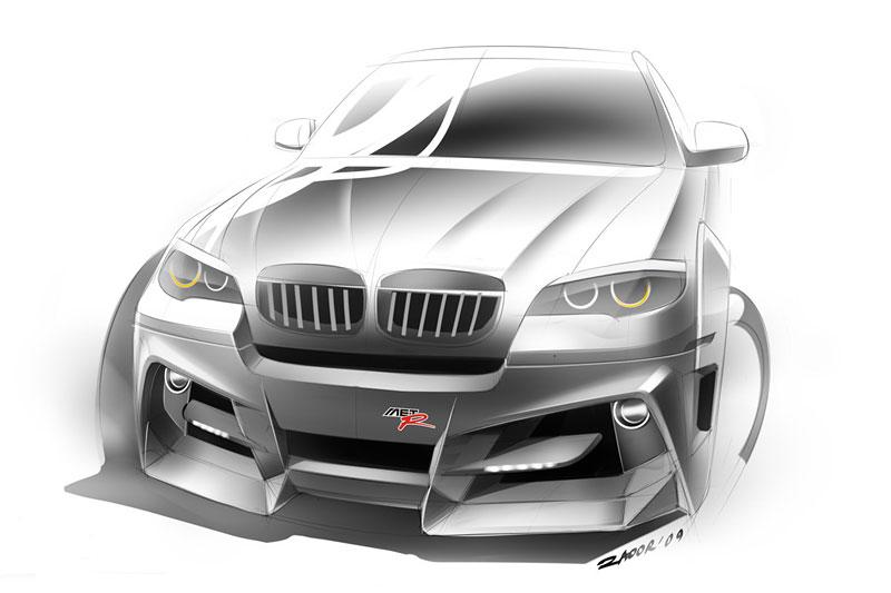 BMW X6 Interceptor: ruský tuning pro německé SAV: - fotka 17
