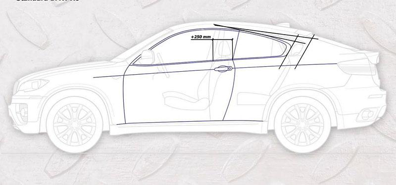 BMW X6: dvoudveřové kupé od ArmorTech: - fotka 8
