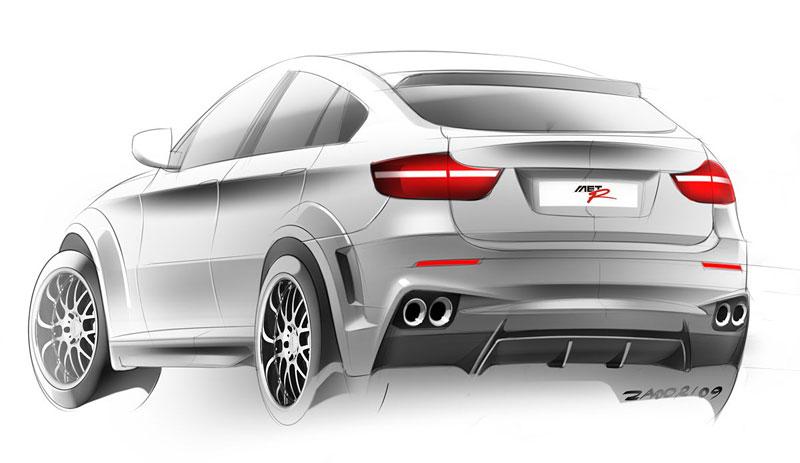 BMW X6 Interceptor: ruský tuning pro německé SAV: - fotka 18