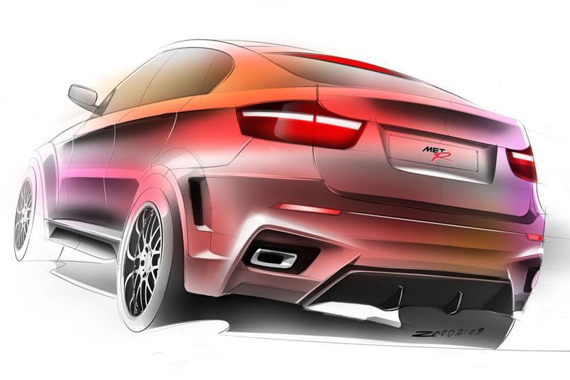 BMW X6 Interceptor: ruský tuning pro německé SAV: - fotka 22