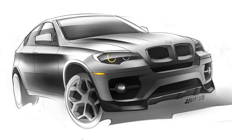 BMW X6 Interceptor: ruský tuning pro německé SAV: - fotka 23