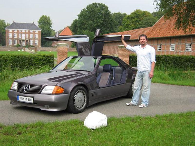 """Boschert B300 chtěl být """"racek"""" začátku 90. let. Vznikl ale zřejmě jen jeden kus. A ten je právě na prodej: - fotka 7"""