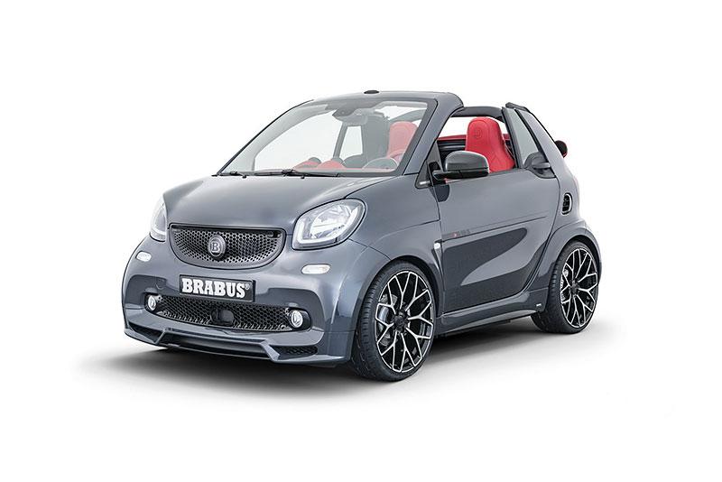 Brabus má auto pro lidi, kteří už opravdu nevědí, co z penězi. Je malé, drahé a docela pomalé: - fotka 7