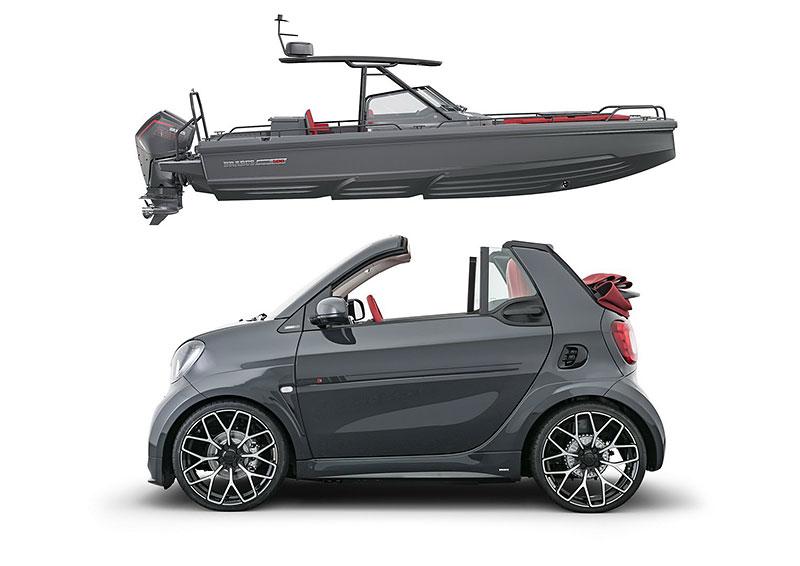 Brabus má auto pro lidi, kteří už opravdu nevědí, co z penězi. Je malé, drahé a docela pomalé: - fotka 9
