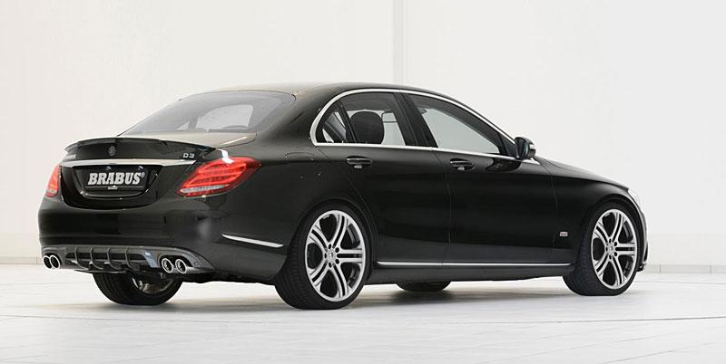 Mercedes-Benz C: Ostřejší díky úpravě Brabus: - fotka 8