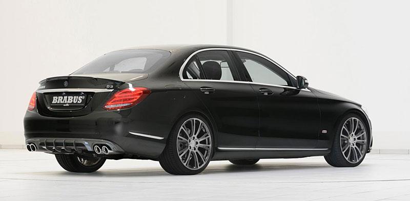 Mercedes-Benz C: Ostřejší díky úpravě Brabus: - fotka 9