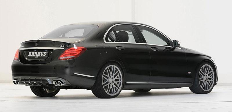 Mercedes-Benz C: Ostřejší díky úpravě Brabus: - fotka 11