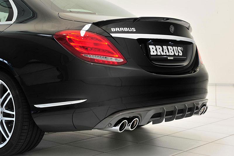 Mercedes-Benz C: Ostřejší díky úpravě Brabus: - fotka 14