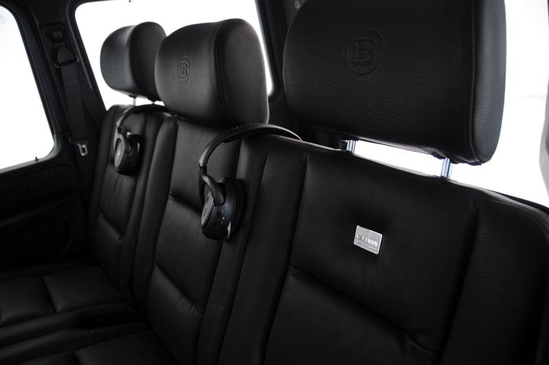 Brabus: Mercedes G nikdy nejezdil klidněji: - fotka 11