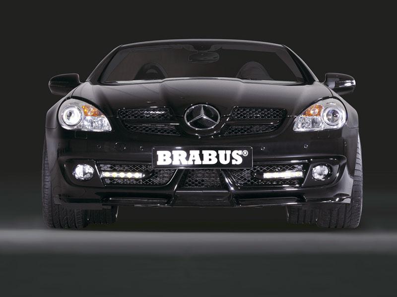 Brabus poladil Mercedes-Benz SLK 55 AMG 2008: - fotka 1