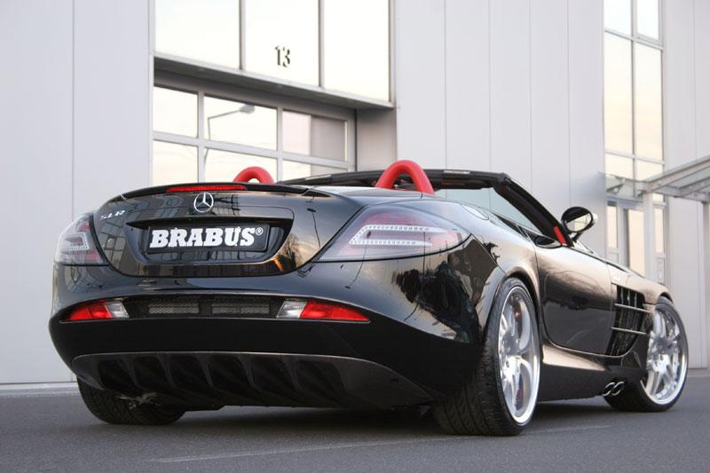 Essen 2007 : Brabus SLR Roadster – Hromový amfiteátr: - fotka 13