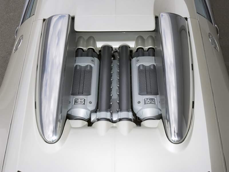 Pod lupou: Bugatti EB 16.4 Veyron - čtyři turba, 1000 koní: - fotka 45