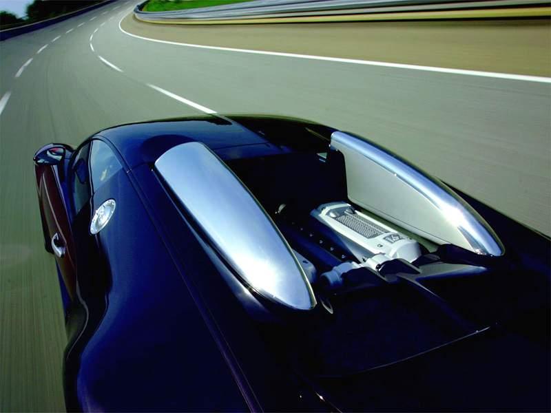 Pod lupou: Bugatti EB 16.4 Veyron - čtyři turba, 1000 koní: - fotka 61
