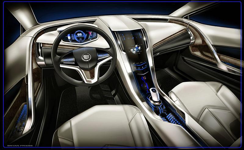Detroit 2009: Cadillac Converj Concept: - fotka 1