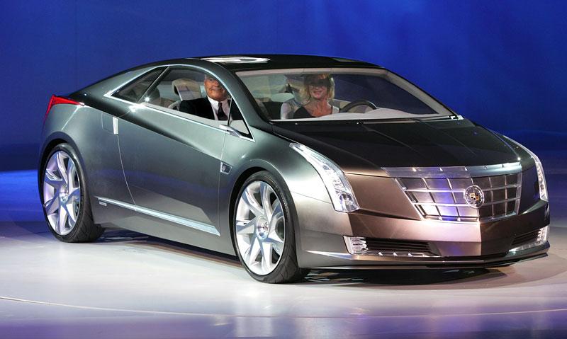 Detroit 2009: Cadillac Converj Concept: - fotka 8