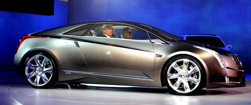 Detroit 2009: Cadillac Converj Concept: - fotka 10