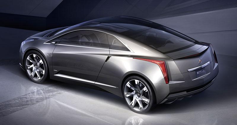 Detroit 2009: Cadillac Converj Concept: - fotka 11
