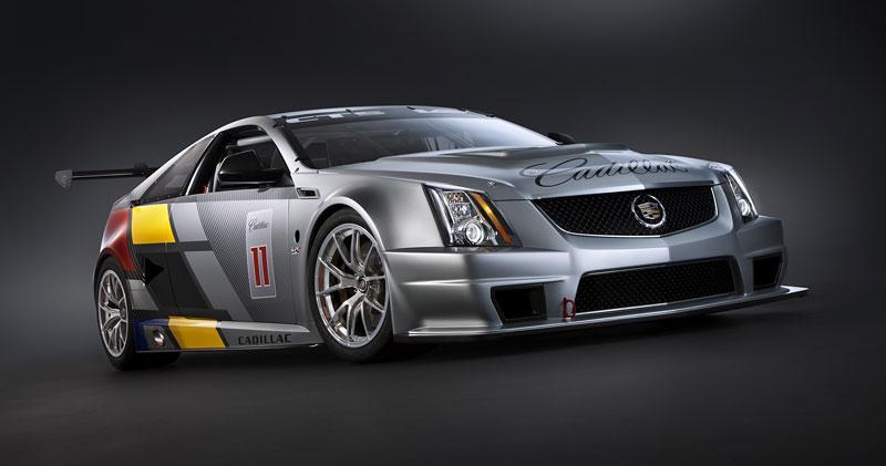 Detroit 2011: Cadillac CTS-V Coupe pro závody SCCA: - fotka 2