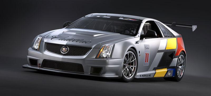 Detroit 2011: Cadillac CTS-V Coupe pro závody SCCA: - fotka 4