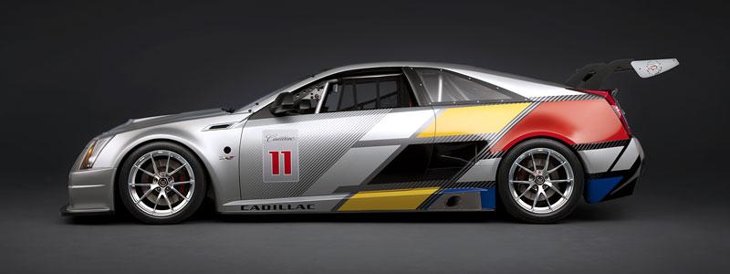 Detroit 2011: Cadillac CTS-V Coupe pro závody SCCA: - fotka 5