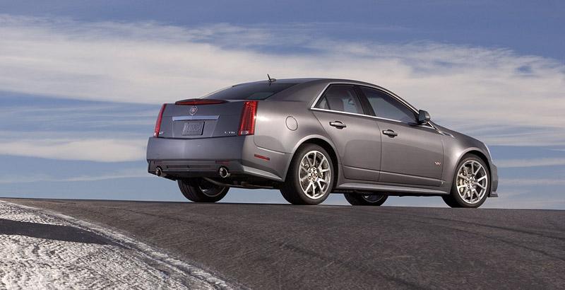 Cadillac CTS-V nejrychlejším sedanem Nordschleife: - fotka 13