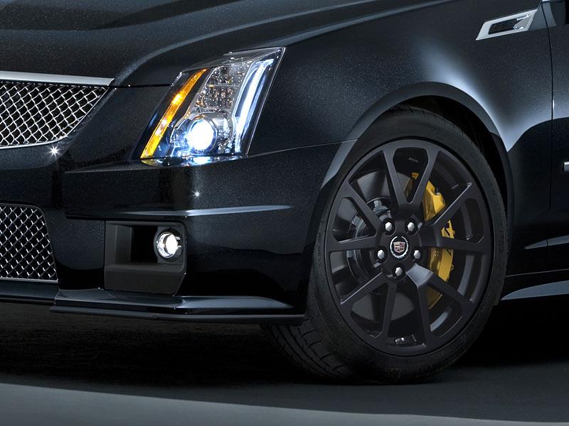 Chicago 2011: Cadillac CTS-V Black Diamond Edition: - fotka 9