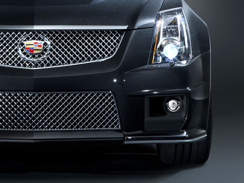 Chicago 2011: Cadillac CTS-V Black Diamond Edition: - fotka 12
