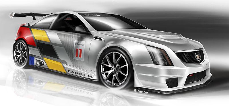 Detroit 2011: Cadillac CTS-V Coupe pro závody SCCA: - fotka 15