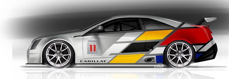 Detroit 2011: Cadillac CTS-V Coupe pro závody SCCA: - fotka 16