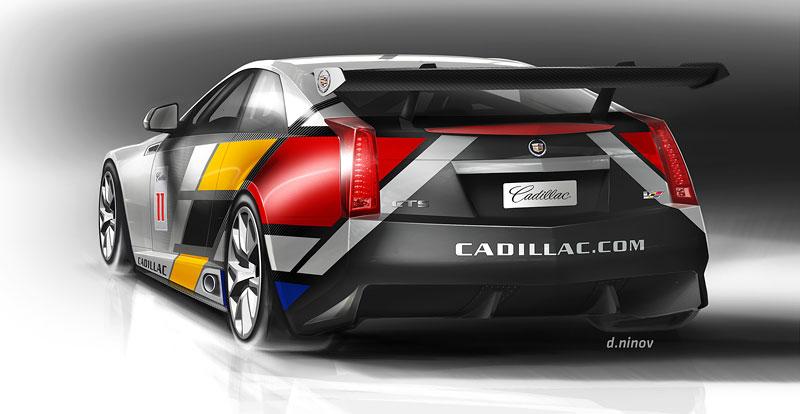Detroit 2011: Cadillac CTS-V Coupe pro závody SCCA: - fotka 17