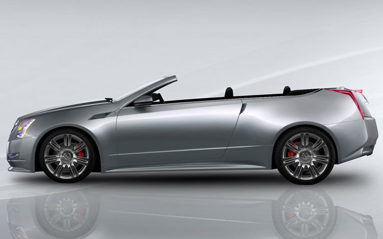 Cadillac CTS: Kabriolet od Drop Top Customs: - fotka 3