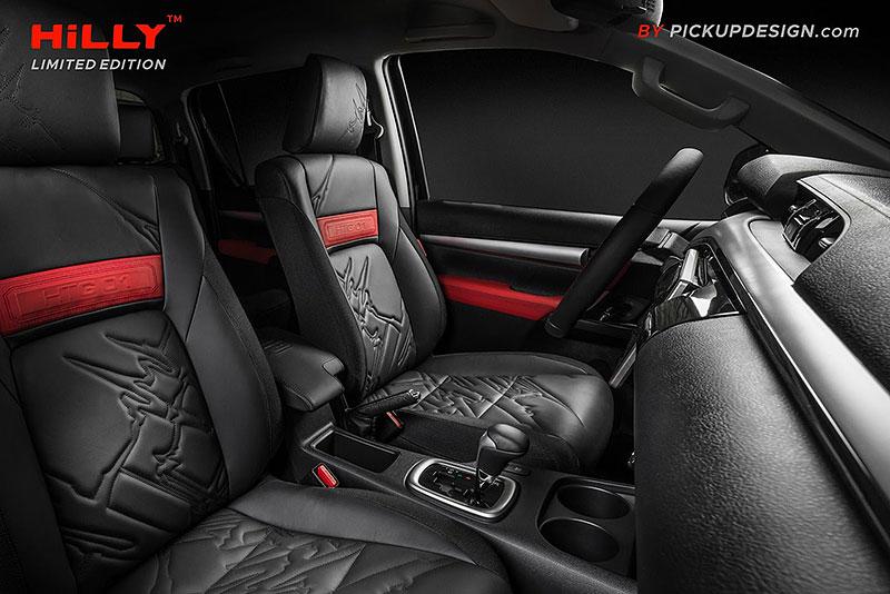 Toyota Hilux Hilly Pickup Design: Carlex ladí už i užitkáče!: - fotka 2