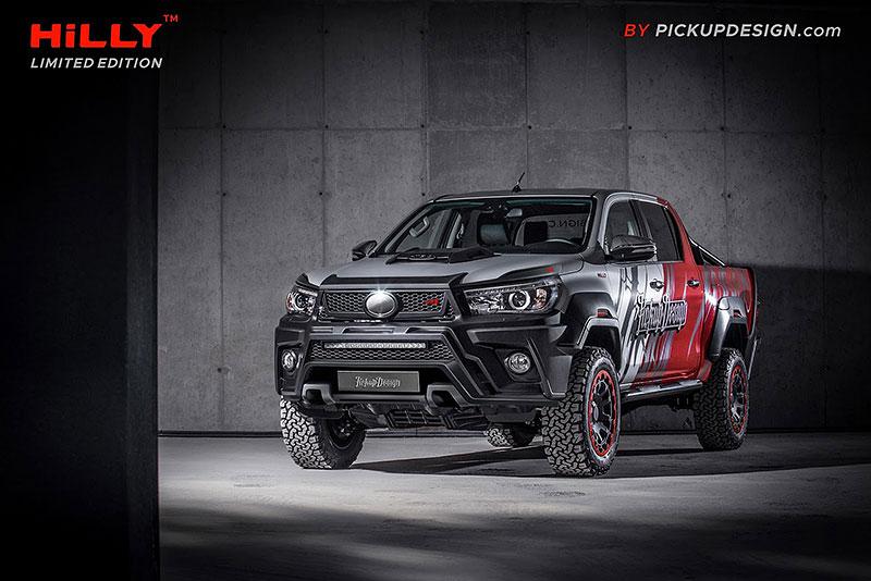 Toyota Hilux Hilly Pickup Design: Carlex ladí už i užitkáče!: - fotka 4