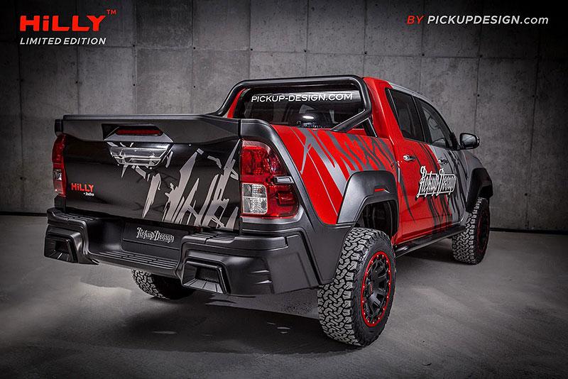 Toyota Hilux Hilly Pickup Design: Carlex ladí už i užitkáče!: - fotka 7