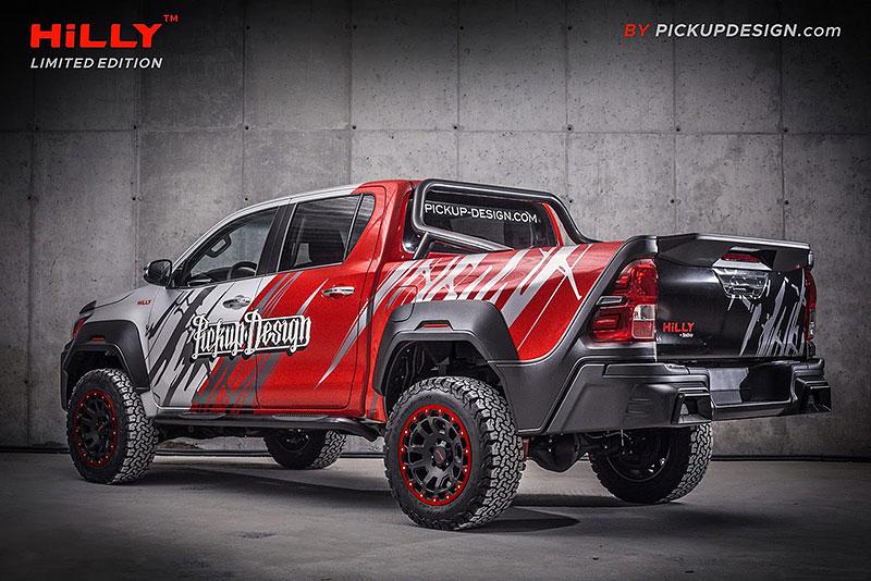 Toyota Hilux Hilly Pickup Design: Carlex ladí už i užitkáče!: - fotka 8