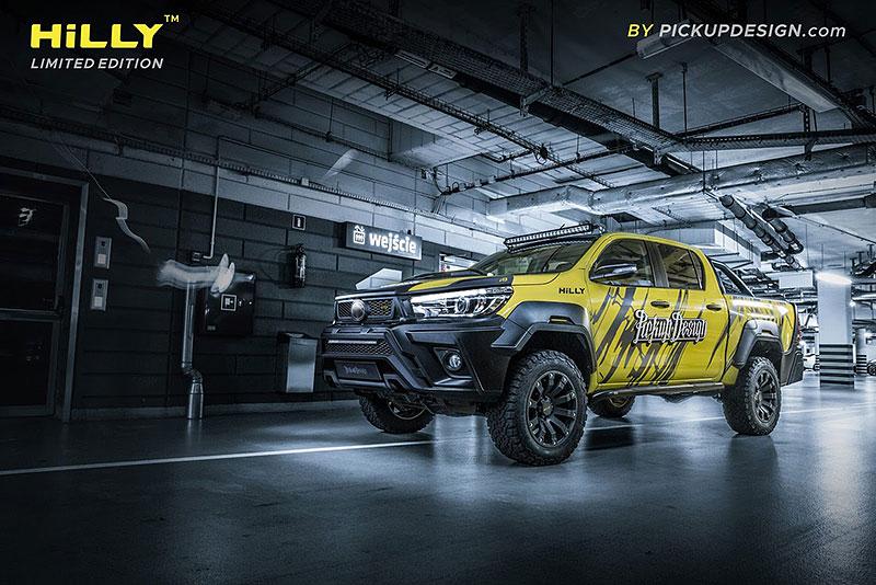 Toyota Hilux Hilly Pickup Design: Carlex ladí už i užitkáče!: - fotka 12