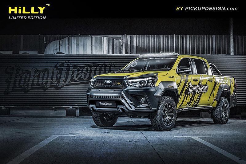 Toyota Hilux Hilly Pickup Design: Carlex ladí už i užitkáče!: - fotka 13