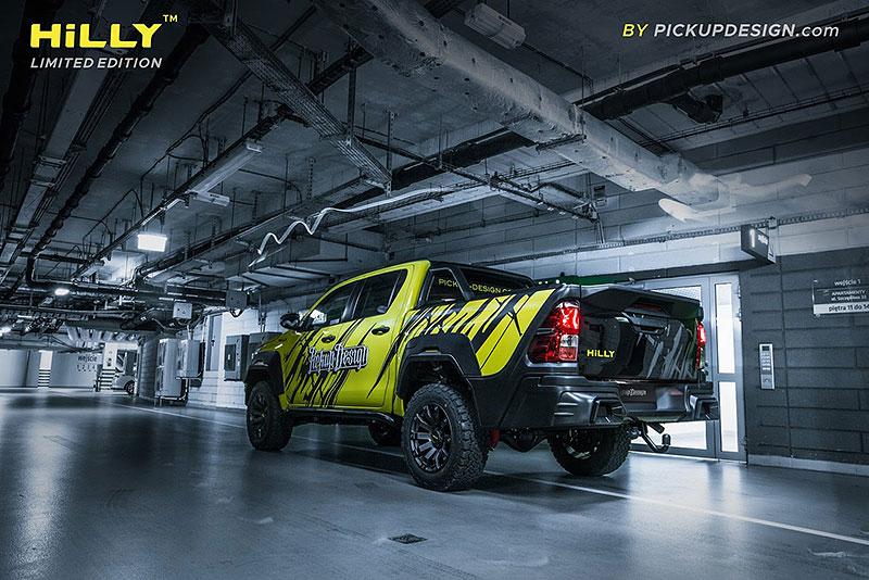 Toyota Hilux Hilly Pickup Design: Carlex ladí už i užitkáče!: - fotka 14
