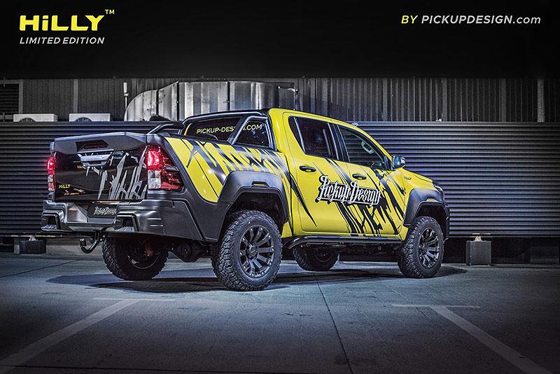 Toyota Hilux Hilly Pickup Design: Carlex ladí už i užitkáče!: - fotka 15