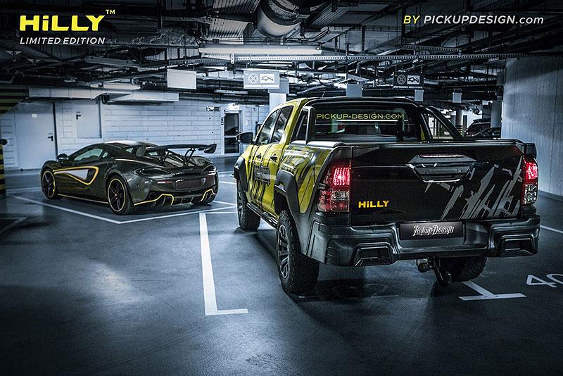 Toyota Hilux Hilly Pickup Design: Carlex ladí už i užitkáče!: - fotka 16